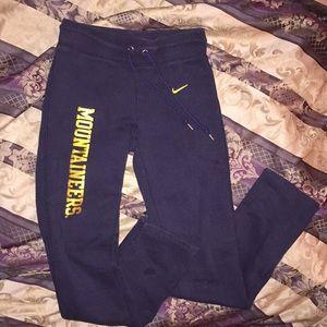 Nike Pants - Nike West Virginia Mountaineers Joggers